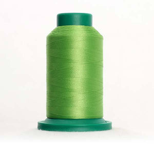 Isacord 5000m/5500yd 40wt solid trilobal polyester thread  number 5912 Erin Green