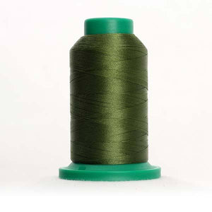 Isacord 5000m/5500yd 40wt solid trilobal polyester thread  number 5933 Grasshopper