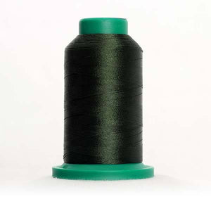 Isacord 5000m/5500yd 40wt solid trilobal polyester thread  number 5944 Backyard Green