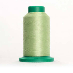 Isacord 5000m/5500yd 40wt solid trilobal polyester thread  number 6051 Jalapeno