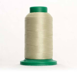 Isacord 1000m/1100yd 40wt solid trilobal polyester thread  number 6071 Old Lace
