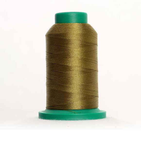 Isacord 5000m/5500yd 40wt solid trilobal polyester thread  number 6133 Caper