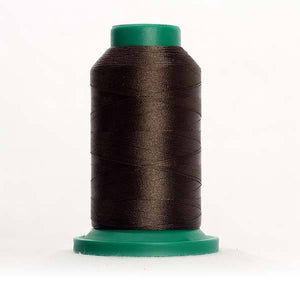 Isacord 5000m/5500yd 40wt solid trilobal polyester thread  number 6156 Olive