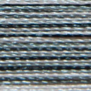 Isacord 1000m/1100yd 40wt variegated trilobal polyester thread  number 9005 Salt & Pepper