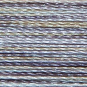 Isacord 1000m/1100yd 40wt variegated trilobal polyester thread  number 9871 Zen Rock Garden