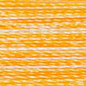 Isacord 1000m/1100yd 40wt variegated trilobal polyester thread  number 9925 Saffron