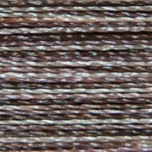 Isacord 1000m/1100yd 40wt variegated trilobal polyester thread  number 9927 Mochalette