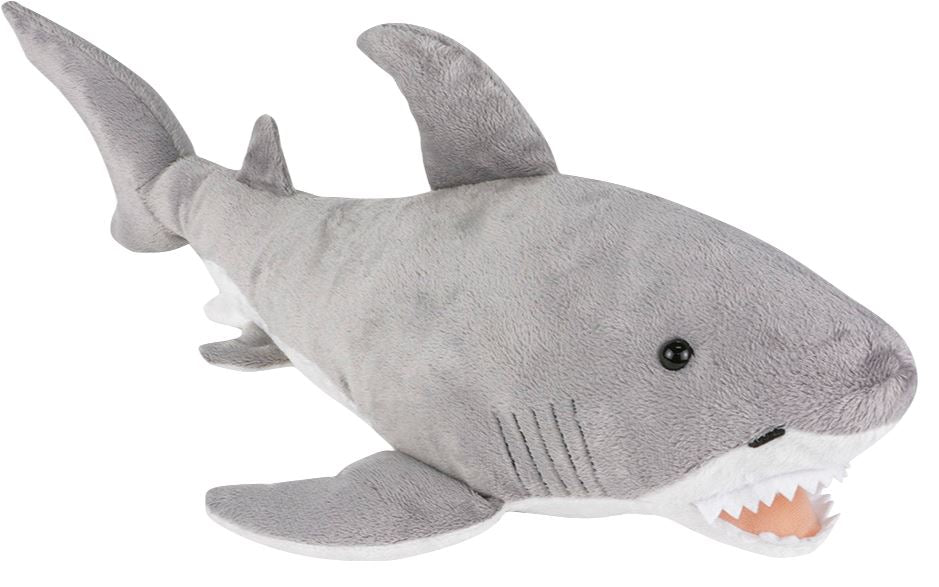 "23"" GREAT WHITE SHARK PLUSH Fun! Swoop"