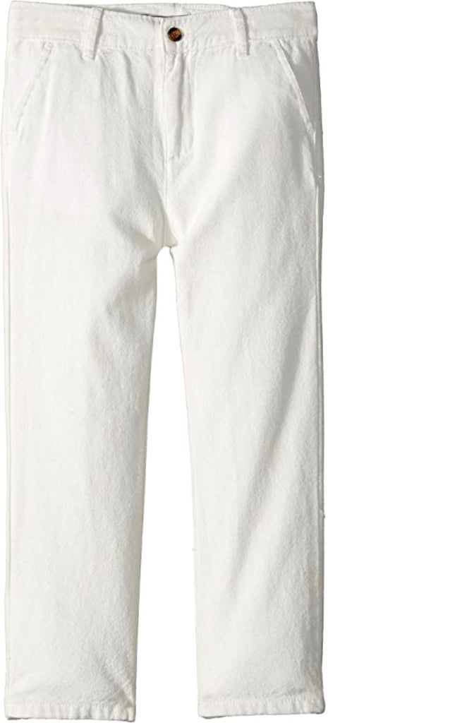 APPAMAN IVORY BEACH PANTS Pants Appaman