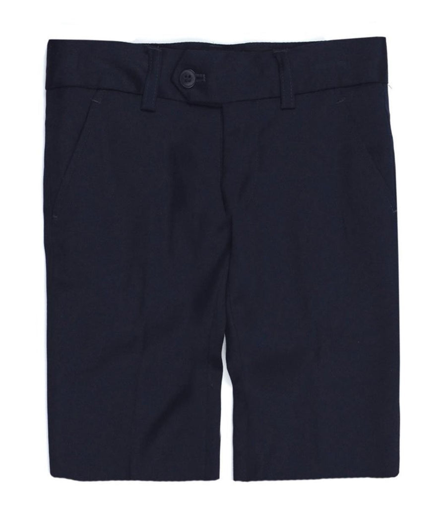 APPAMAN NAVY DRESS BERMUDA SHORTS Shorts Appaman