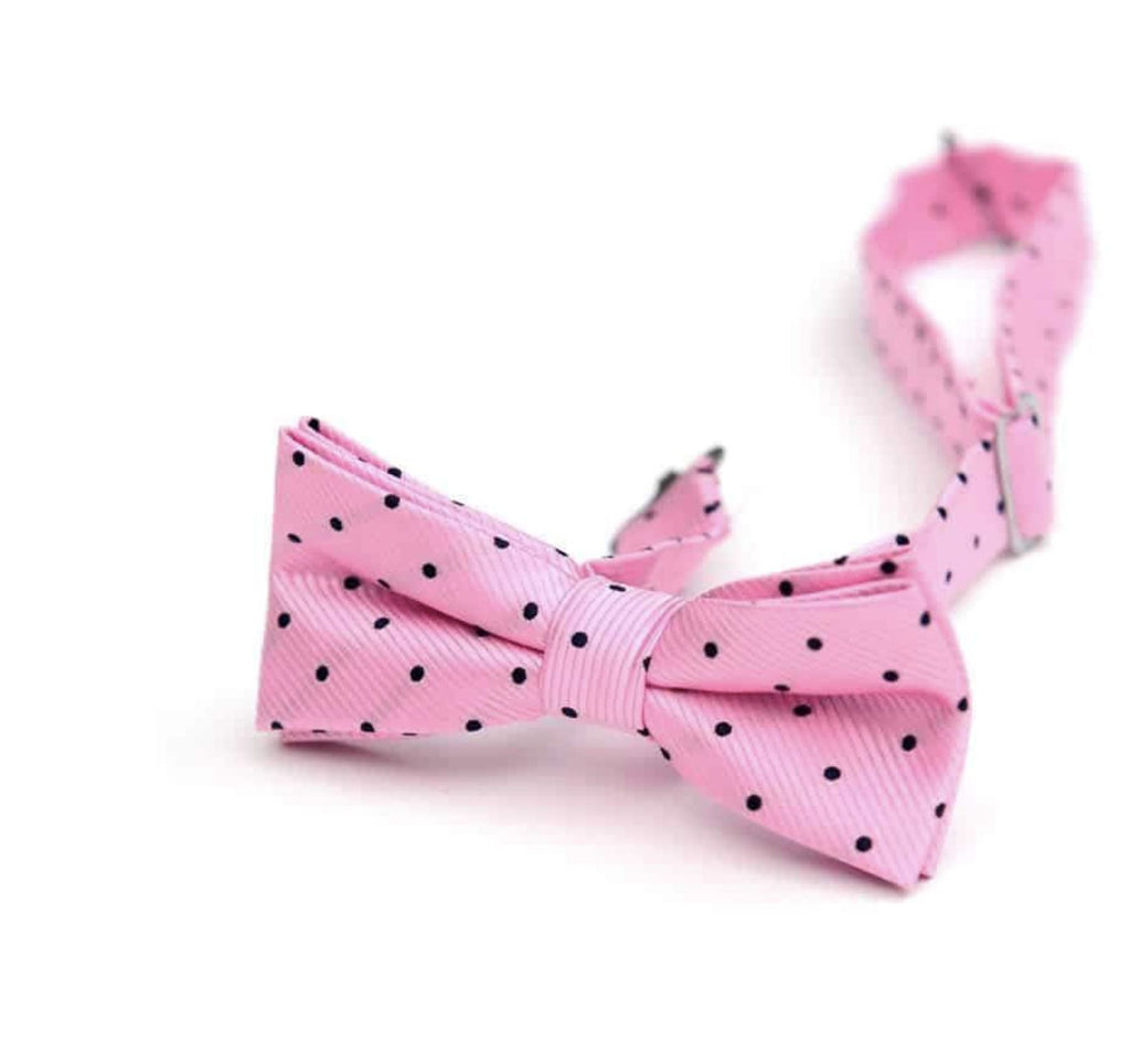 Appaman Pink Navy Bow Tie Accessories Appaman