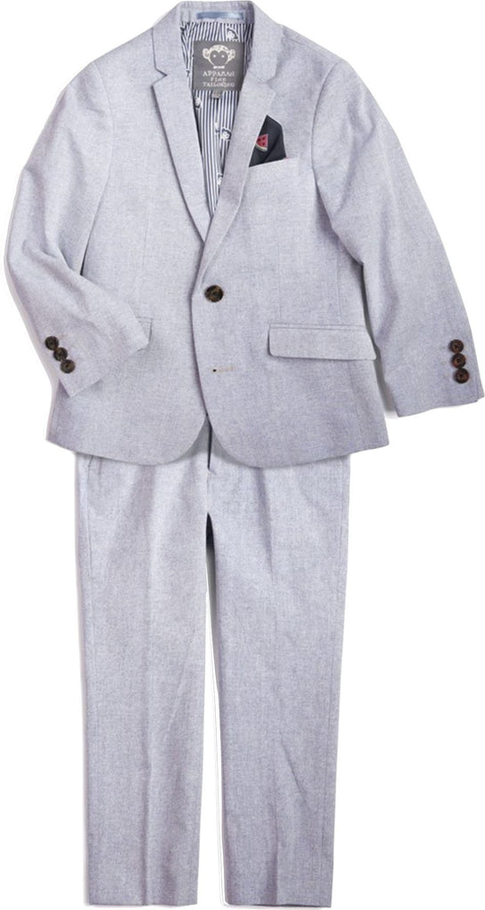 APPAMAN SKY BLUE MOD SUIT 2 PC SET Appaman