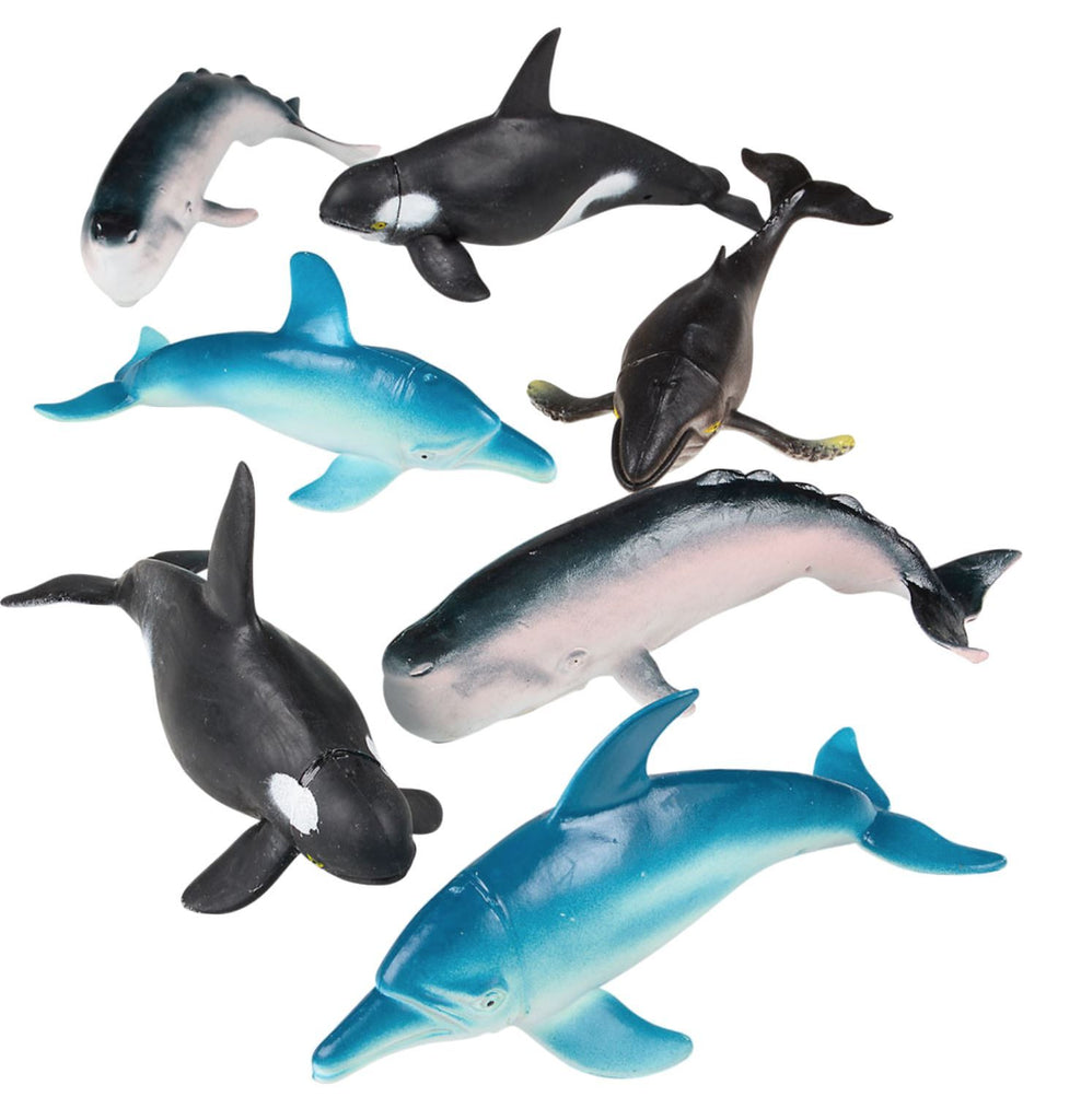BAG OF WHALES & DOLPHINS Fun! Swoop