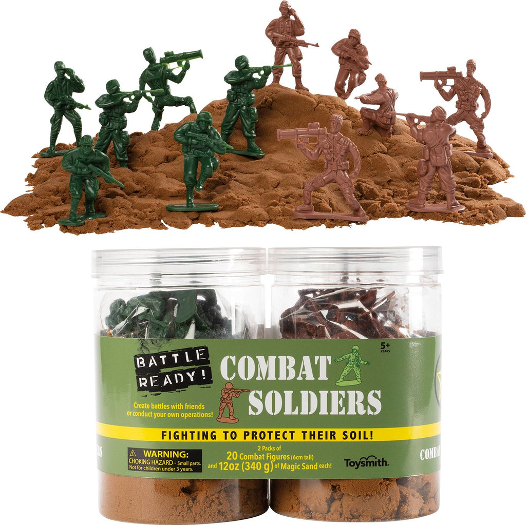 BATTLE READY COMBAT SOLDIERS Fun! Swoop