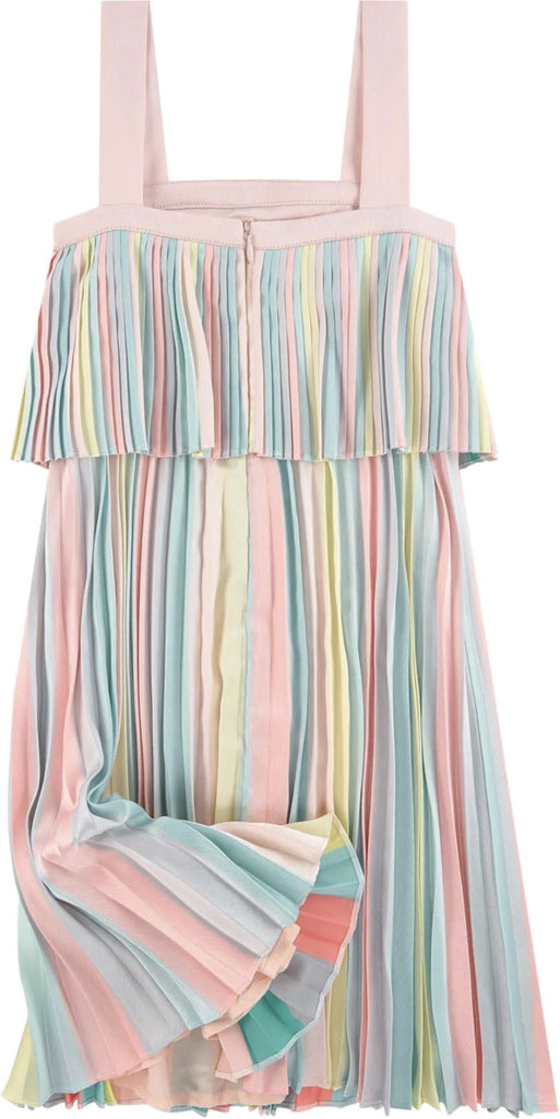 BILLIEBLUSH PLEATED SATIN DRESS Dress Billieblush