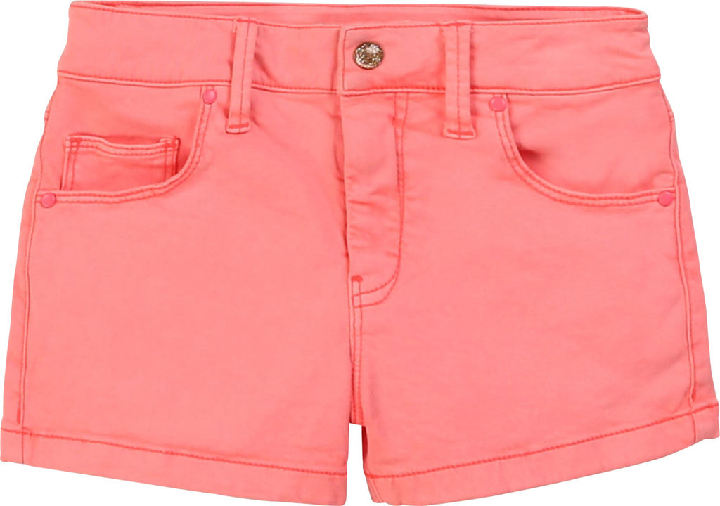 BILLIEBLUSH ROSE TWILL SHORTS Shorts Billieblush