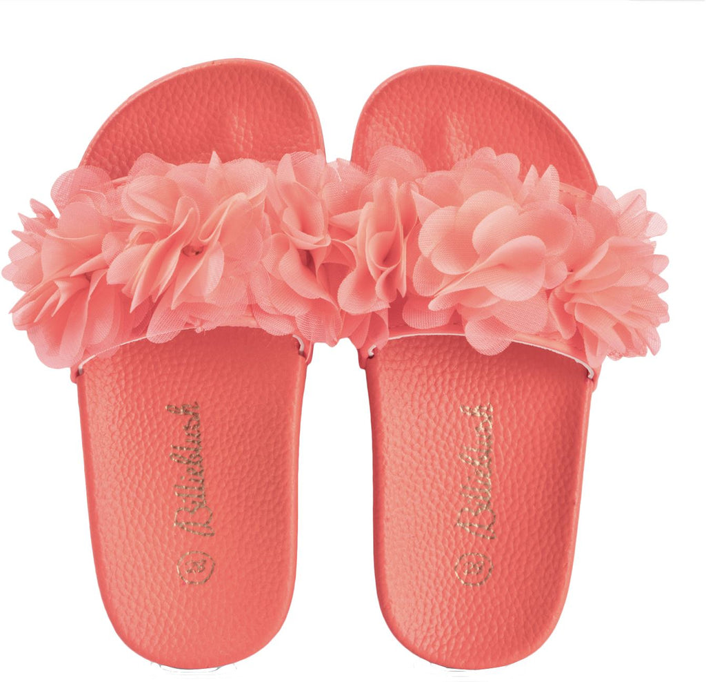 Billieblush Rosette Slides Shoes Billieblush