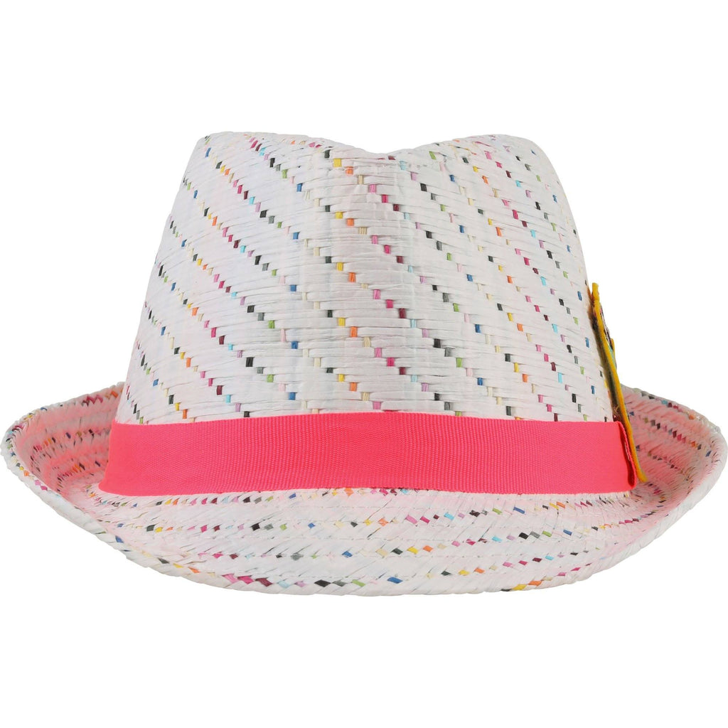Billieblush Straw Fedora Accessories Billieblush
