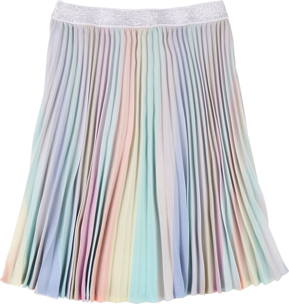 BILLIEBLUSH WATERCOLOR PLEATED SKIRT Skirt Billieblush