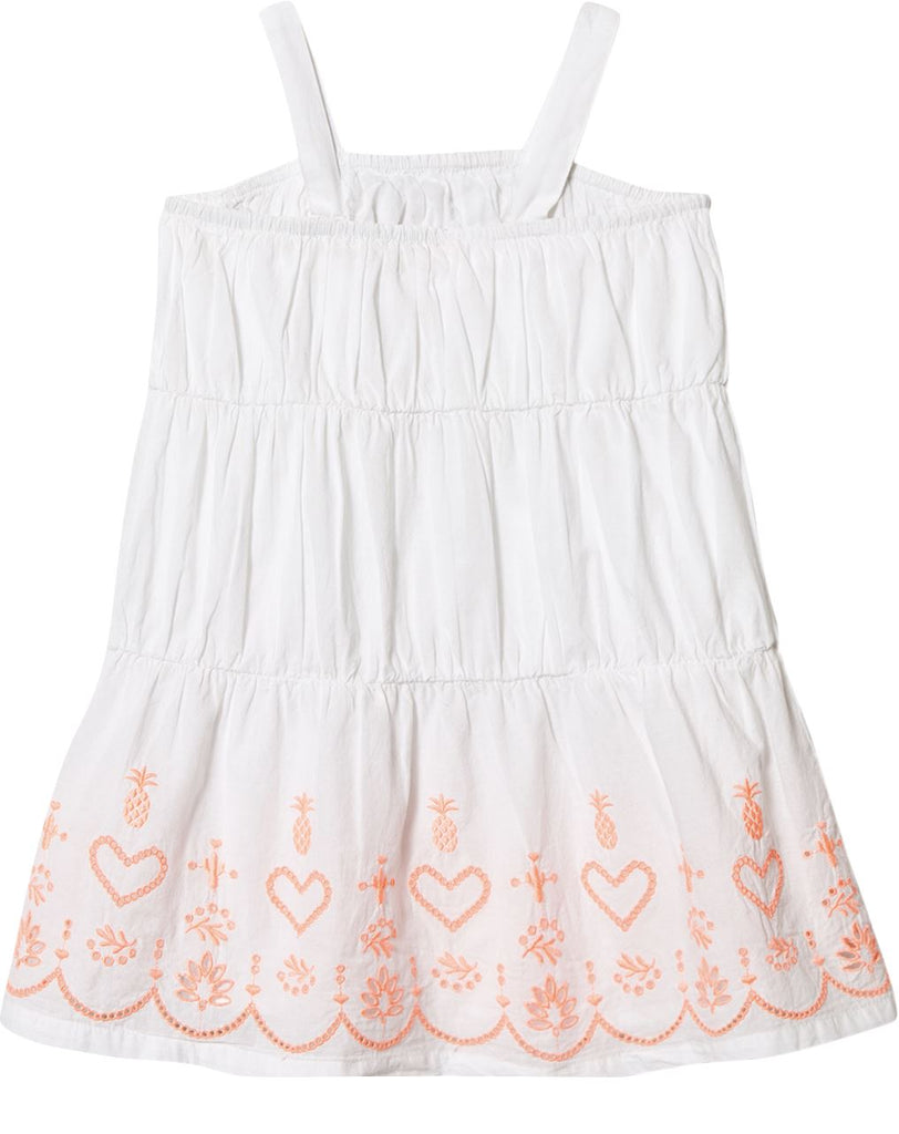 Billieblush White Tiered Dress Dress Billieblush