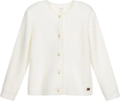 Carrement Beau Fluffy Knit Cardigan sweater Carrement Beau