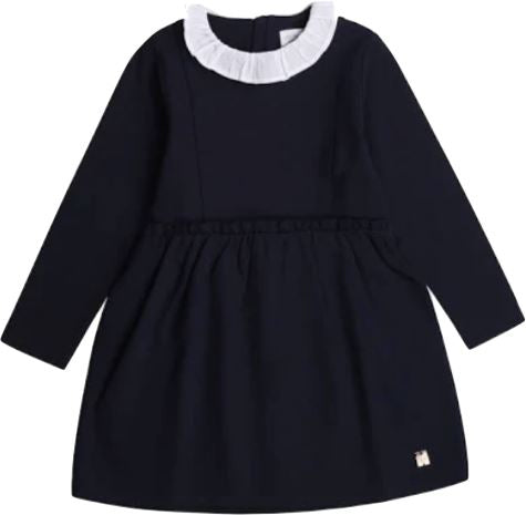 Carrement Beau Long Sleeve Navy Dress Dress Carrement Beau