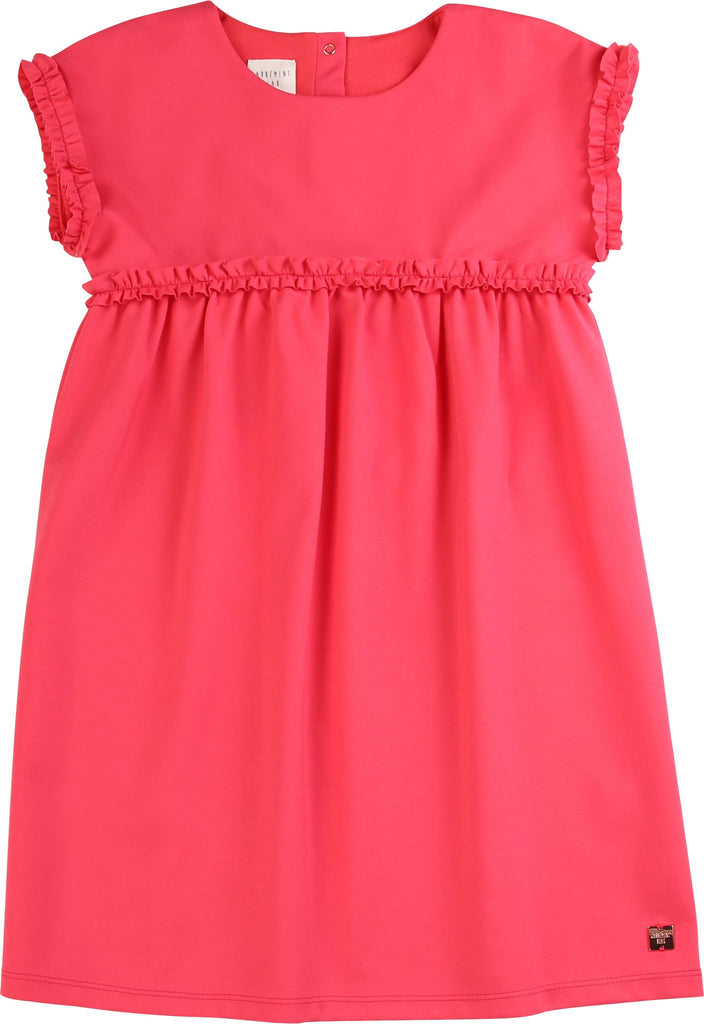 CARREMENT BEAU MILANO RUFFLE DRESS Dress Carrement Beau