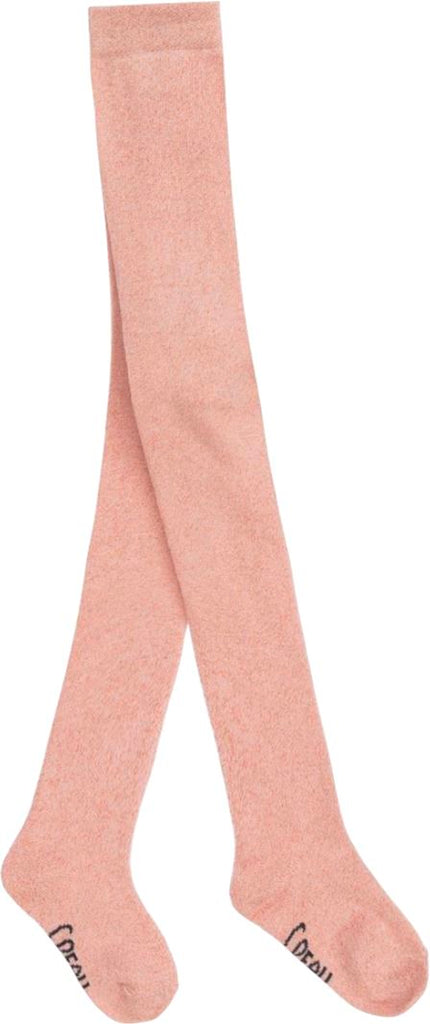Carrement Beau Pink Lurex Tights Accessories Carrement Beau