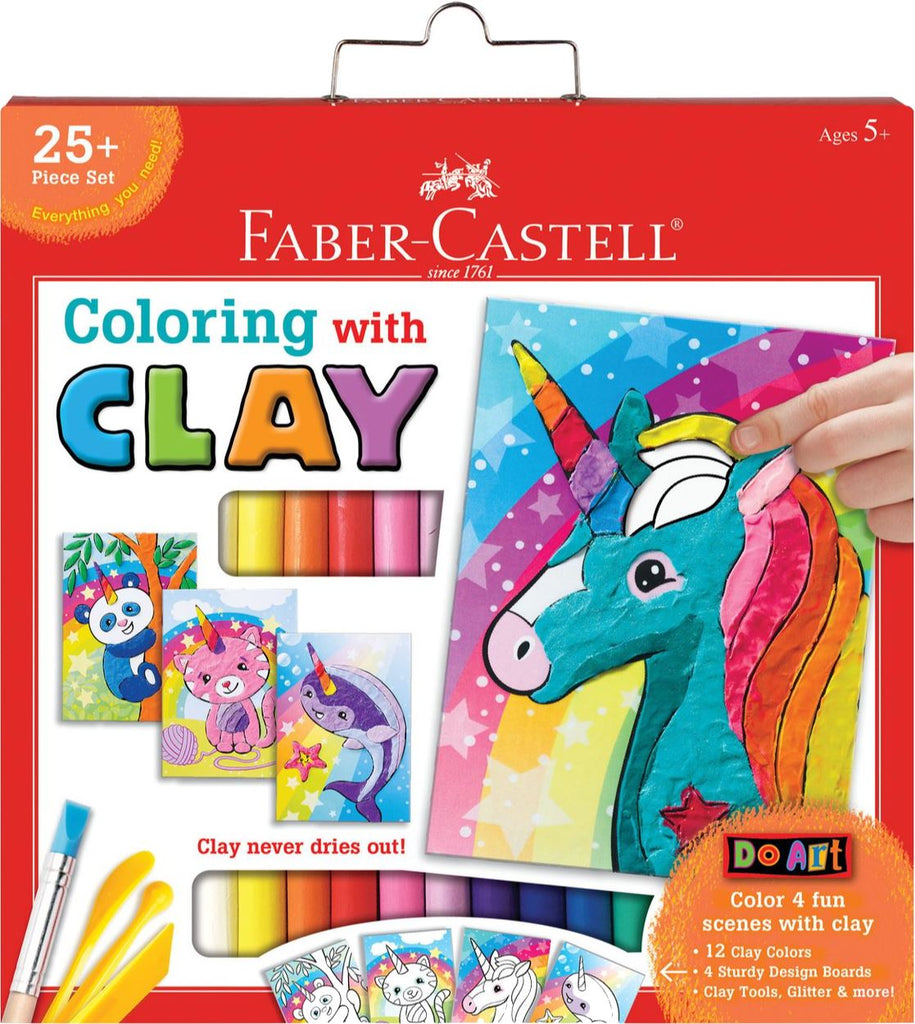 COLORING WITH CLAY UNICORN Fun! Swoop