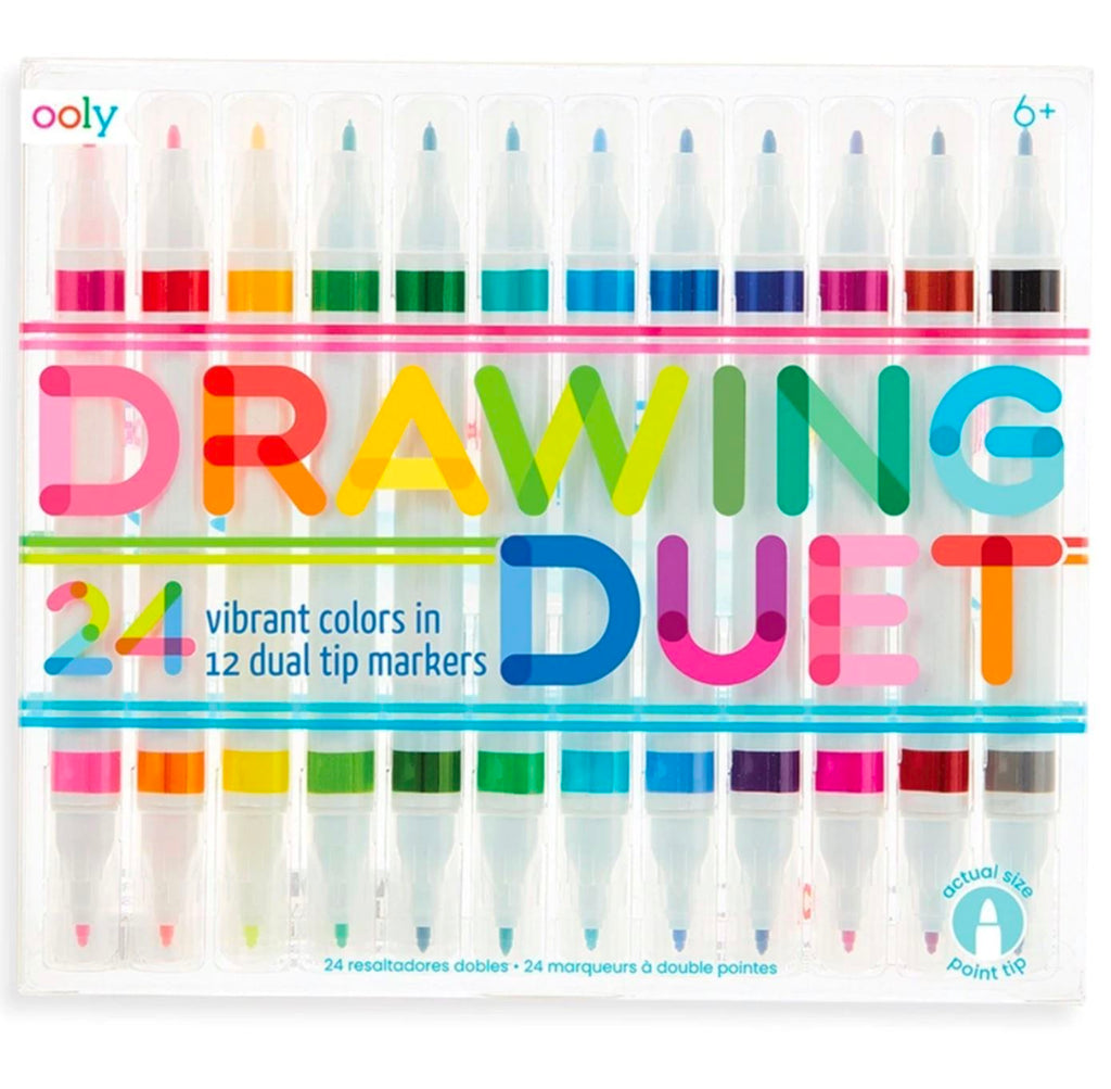 Drawing Duet Markers Fun! Swoop Is Fun