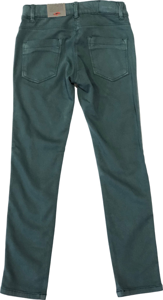 EDDIE PEN GREEN RAS PANT Pants Eddie Pen