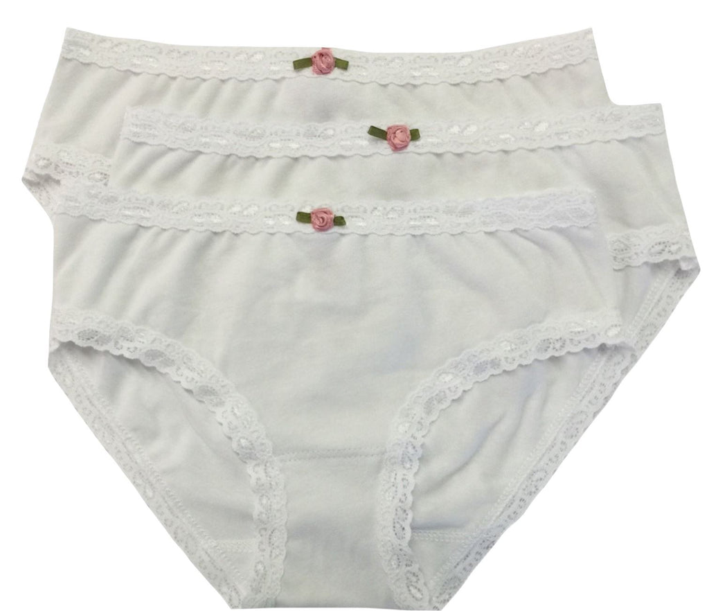 ESME WHITE 3 PACK PANTIES PJ's Esme