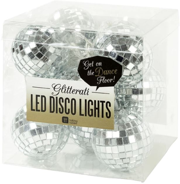 GLITTER DISCO LIGHTS Fun! Swoop
