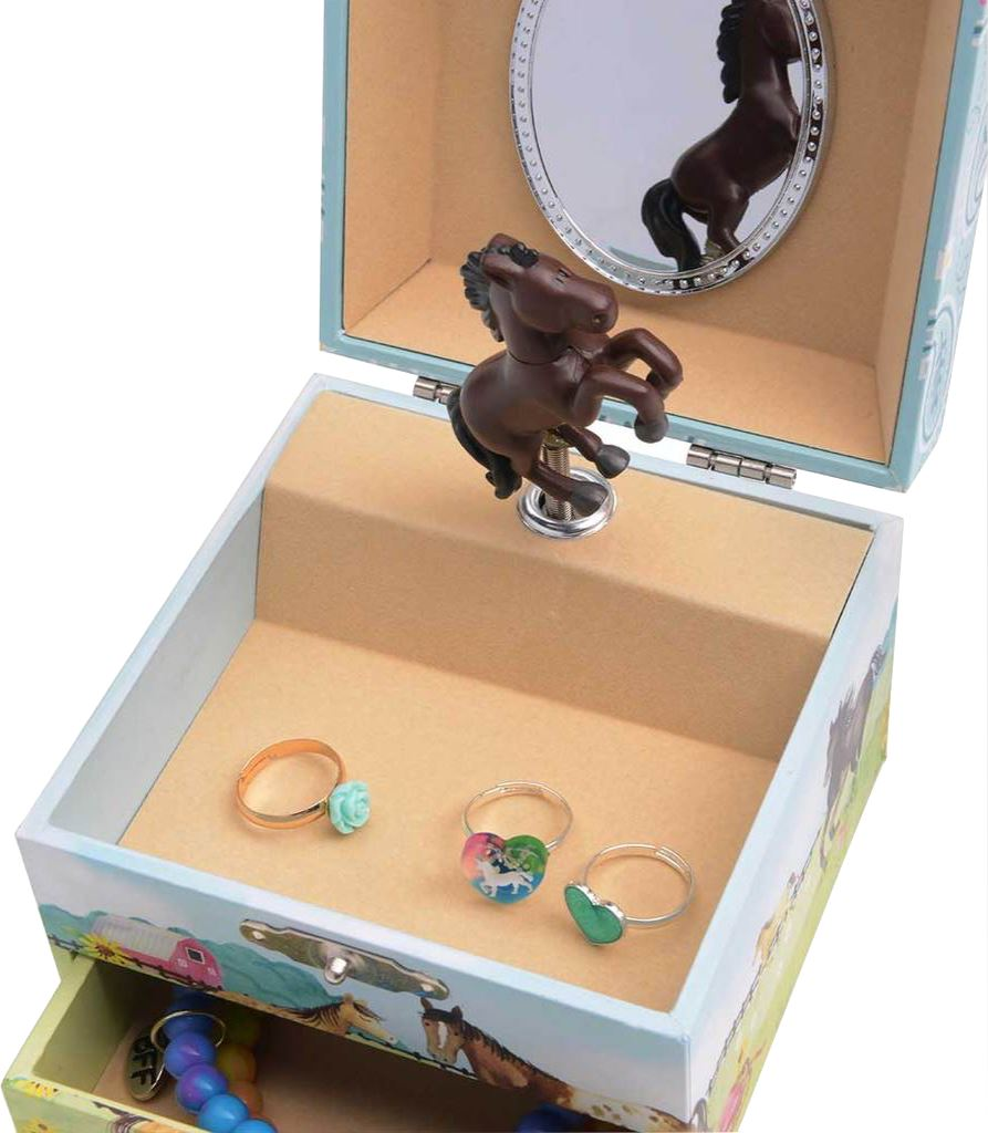 HORSE MUSICAL JEWELRY BOX Toys Swoop