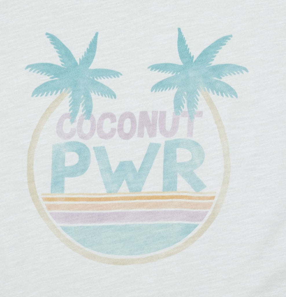 Hundred Pieces Coconut T-Shirt Tops Hundred Pieces