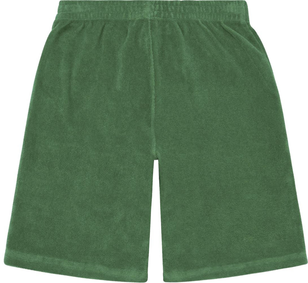 Hundred Pieces Green Terry Shorts Shorts Hundred Pieces