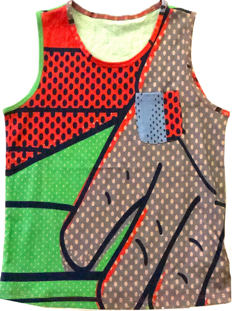 JNBY Bright Graphic Tank Tops JNBY