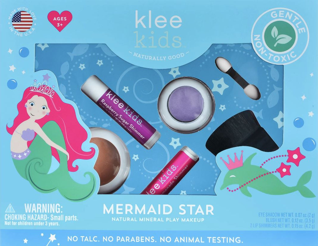 KLEE KIDS NATURAL PLAY MAKEUP Accessories Swoop Mermaid Star