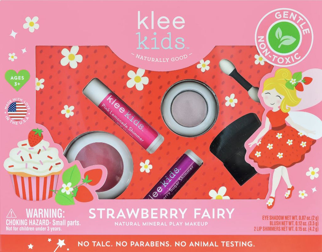 KLEE KIDS NATURAL PLAY MAKEUP Accessories Swoop Strawberry Fairy