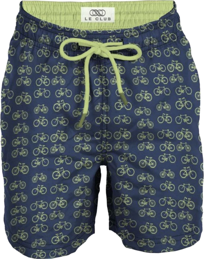 LE CLUB LIME BIKE SWIM TRUNKS Swim Le Club