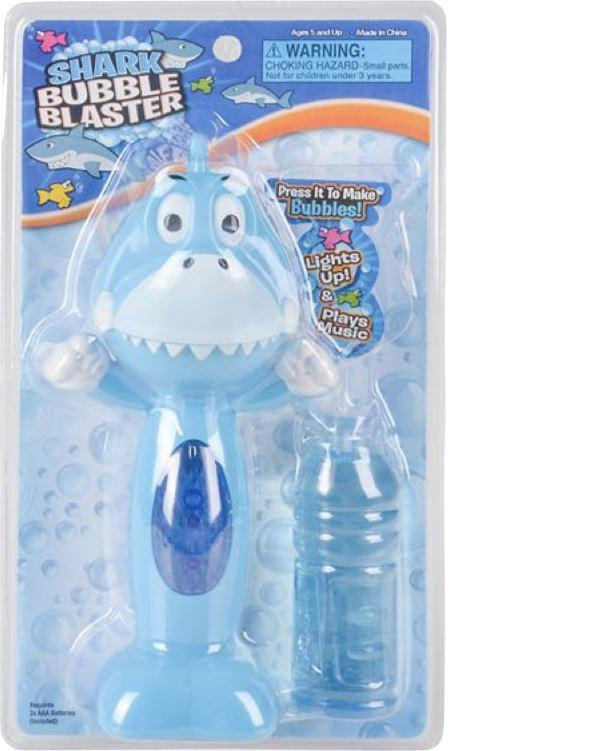 LIGHT UP SHARK BUBBLE BLASTER Fun! Swoop Is Fun