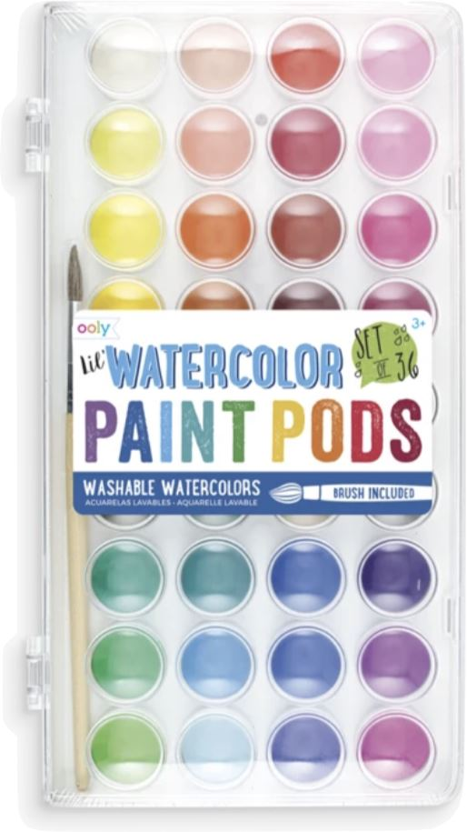 LIL PAINT PODS WATERCOLORS Fun! Swoop