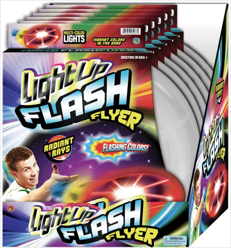 Lite Up Flash Flyer Fun! Zoofy