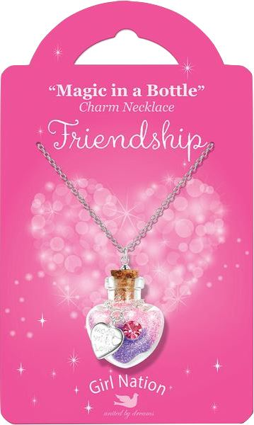 MAGIC IN A BOTTLE FRIENDSHIP NECKLACE Accessories Swoop