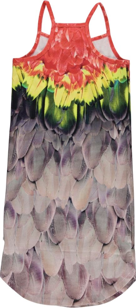 MOLO CORTNEY PARROT DRESS Dress Molo