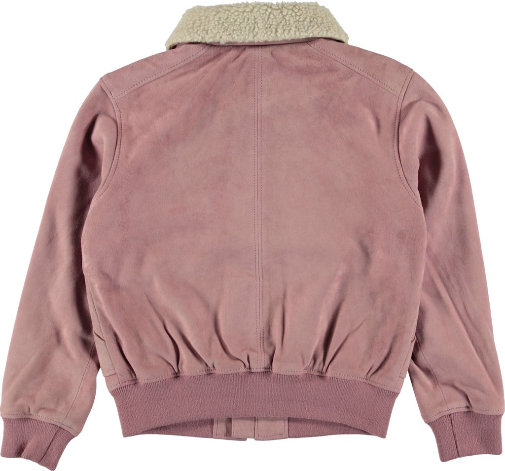 MOLO HESTER ROSE SUEDE JACKET Swoop