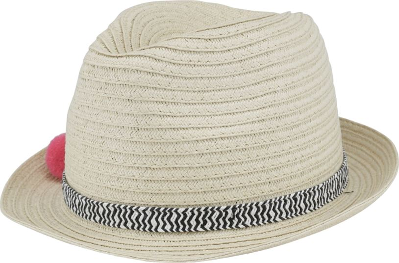 MOLO STRAW POM POM HAT Accessories Molo