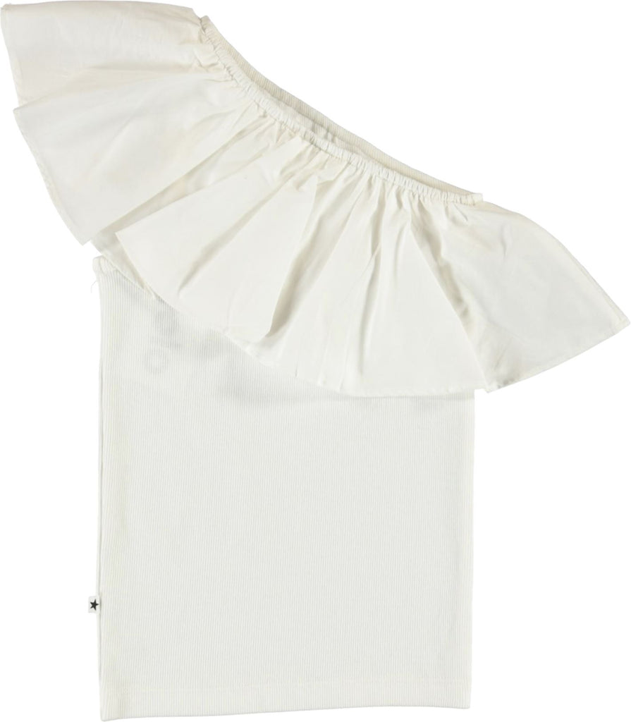 Molo White Rebecca Top Tops Molo