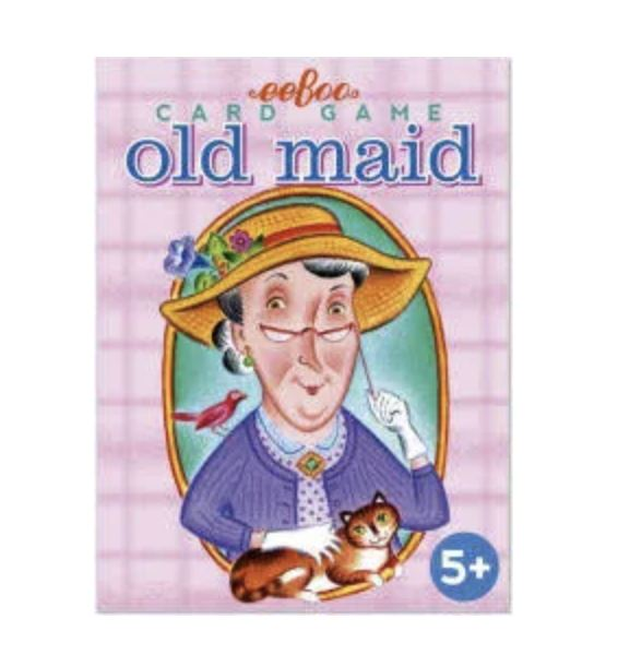OLD MAID PLAYING CARDS Fun! eeBoo