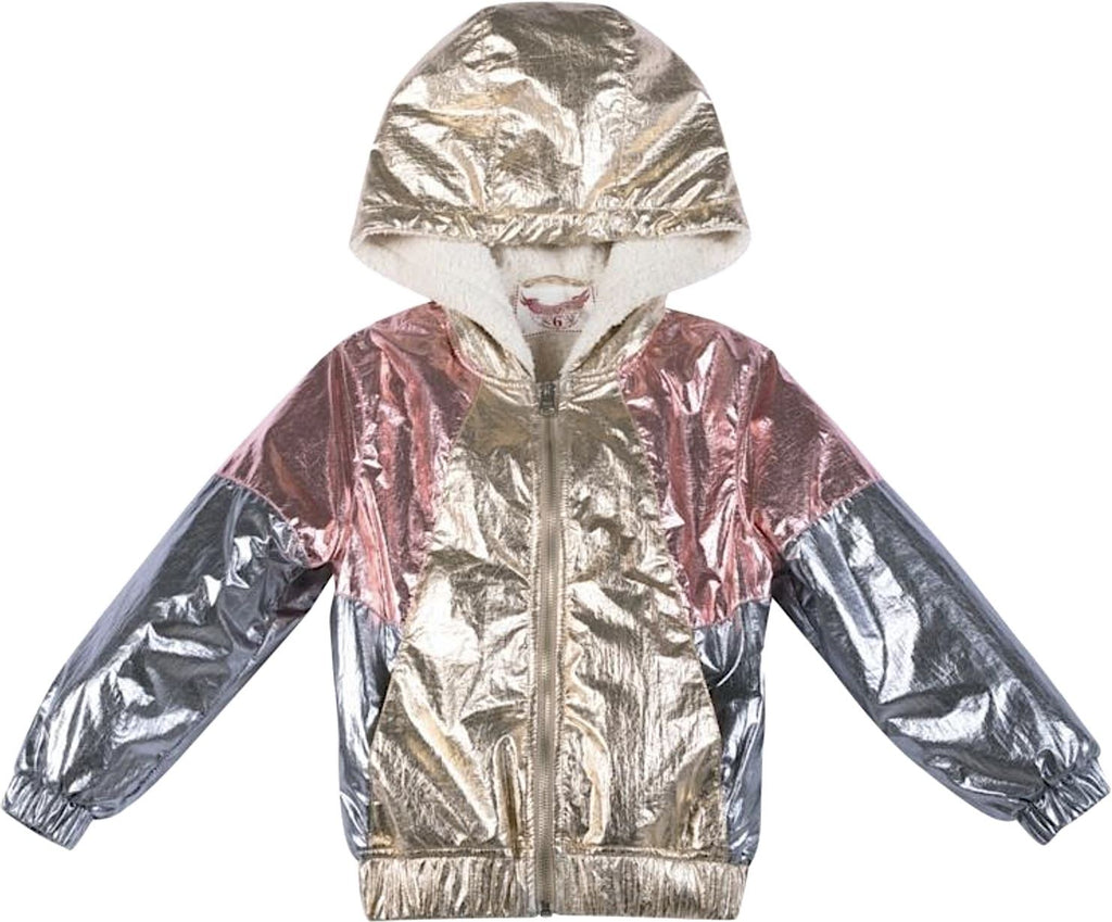 PAPER WINGS METALLIC SPRAY JACKET Jackets & Coats Paper Wings